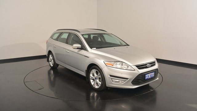 Used Ford Mondeo MC Zetec Tdci, 2013 Ford Mondeo MC Zetec Tdci Silver 6 Speed Sports Automatic Wagon