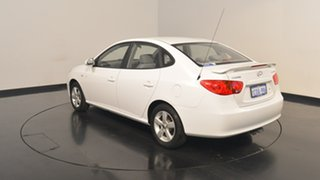 2007 Hyundai Elantra HD SLX Crystal White 5 Speed Manual Sedan.