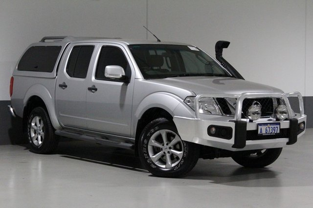 Used Nissan Navara D40 MY12 ST (4x4), 2012 Nissan Navara D40 MY12 ST (4x4) Silver 6 Speed Manual Dual Cab Pick-up