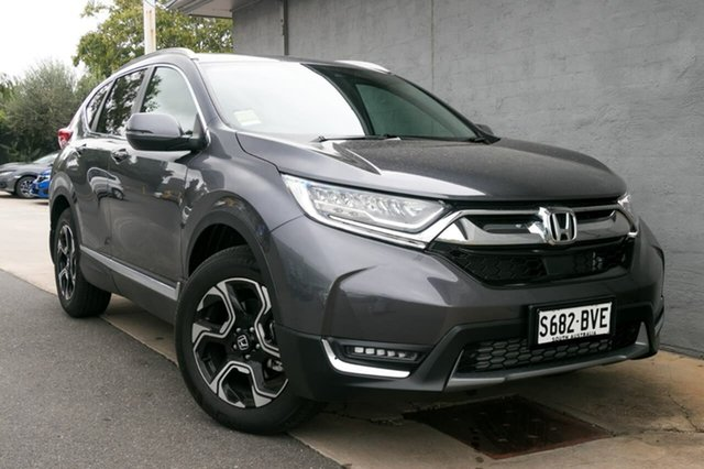 Demo Honda CR-V RW MY18 VTi-LX 4WD, 2018 Honda CR-V RW MY18 VTi-LX 4WD Modern Steel 1 Speed Constant Variable Wagon