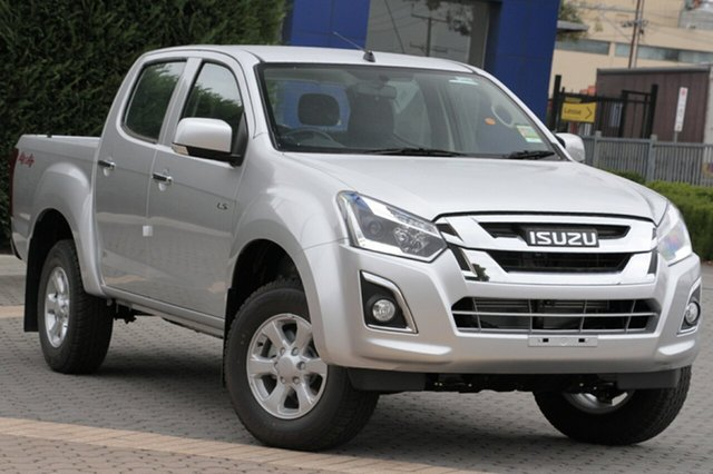 New Isuzu D-MAX MY19 LS-M Crew Cab, 2019 Isuzu D-MAX MY19 LS-M Crew Cab Graphite Grey 6 Speed Sports Automatic Utility