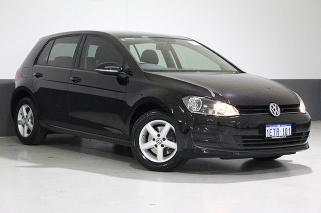 Used Volkswagen Golf AU MY15 90 TSI, 2015 Volkswagen Golf AU MY15 90 TSI Black 6 Speed Manual Hatchback