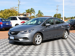 2017 Holden Astra BL MY17 LT Satin Steel Grey 6 Speed Sports Automatic Sedan.