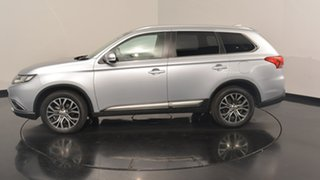 2017 Mitsubishi Outlander ZK MY17 LS 2WD Cool Silver 6 Speed Constant Variable Wagon.