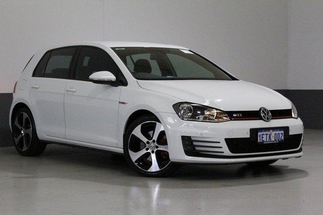 Used Volkswagen Golf AU MY14 GTi, 2014 Volkswagen Golf AU MY14 GTi White 6 Speed Direct Shift Hatchback