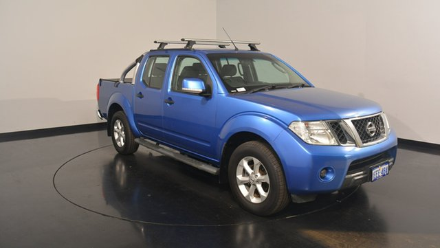 Used Nissan Navara D40 S6 MY12 ST 4x2, 2013 Nissan Navara D40 S6 MY12 ST 4x2 Blue 6 Speed Manual Utility