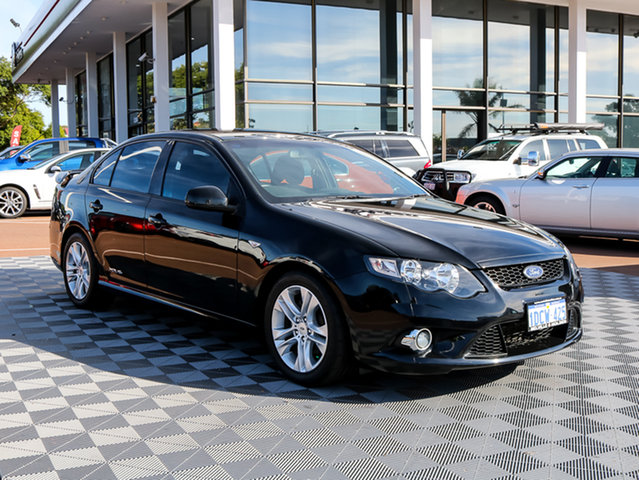 Used Ford Falcon FG XR6, 2009 Ford Falcon FG XR6 Black 5 Speed Sports Automatic Sedan