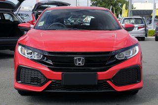 2018 Honda Civic 10th Gen MY18 VTi Rallye Red 1 Speed Constant Variable Hatchback.