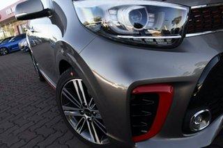 2019 Kia Picanto JA MY19 GT-Line Titanium Silver 4 Speed Automatic Hatchback.