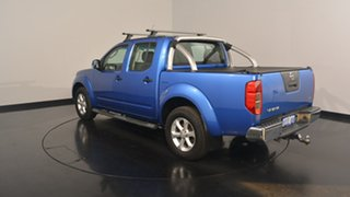 2013 Nissan Navara D40 S6 MY12 ST 4x2 Blue 6 Speed Manual Utility.
