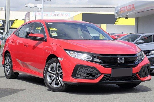 New Honda Civic 10th Gen MY19 VTi, 2019 Honda Civic 10th Gen MY19 VTi Rallye Red 1 Speed Constant Variable Hatchback