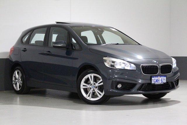 Used BMW 218i F45 Active Tourer Sport Line, 2015 BMW 218i F45 Active Tourer Sport Line Grey 6 Speed Automatic Wagon