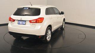 2012 Mitsubishi ASX XB MY13 Aspire 2WD White 5 Speed Manual Wagon