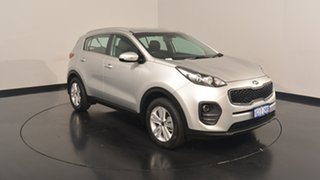 2017 Kia Sportage QL MY17 Si 2WD Sparkling Silver 6 Speed Sports Automatic Wagon.
