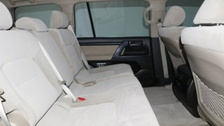 2010 Toyota Landcruiser UZJ200R MY10 GXL White 5 Speed Sports Automatic Wagon
