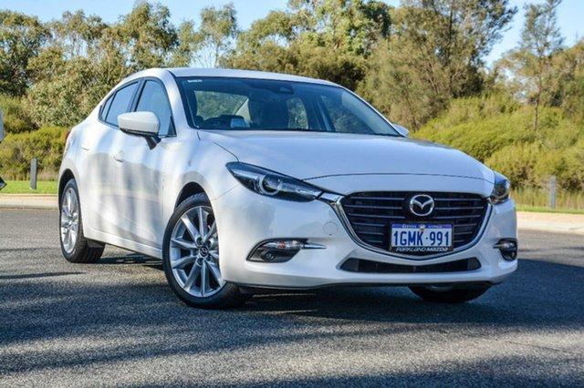 Demo Mazda 3 BN5236 SP25 SKYACTIV-MT GT, 2017 Mazda 3 BN5236 SP25 SKYACTIV-MT GT White 6 Speed Manual Sedan