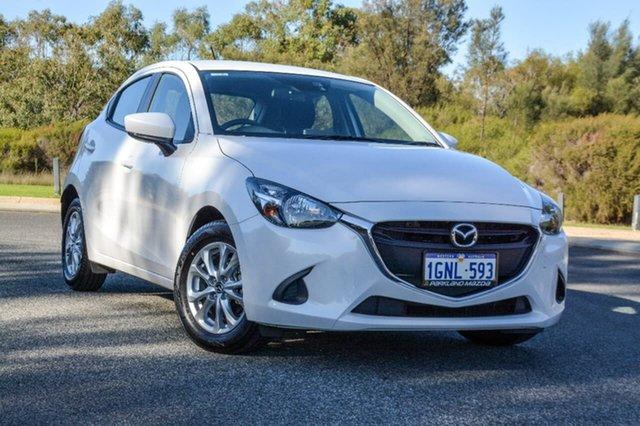 Demo Mazda 2 DJ2HAA Maxx SKYACTIV-Drive, 2018 Mazda 2 DJ2HAA Maxx SKYACTIV-Drive White 6 Speed Sports Automatic Hatchback
