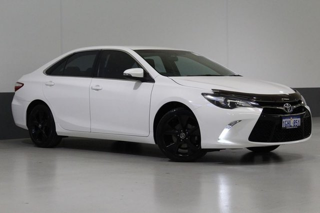 Used Toyota Camry ASV50R MY15 Atara SX, 2015 Toyota Camry ASV50R MY15 Atara SX White 6 Speed Automatic Sedan