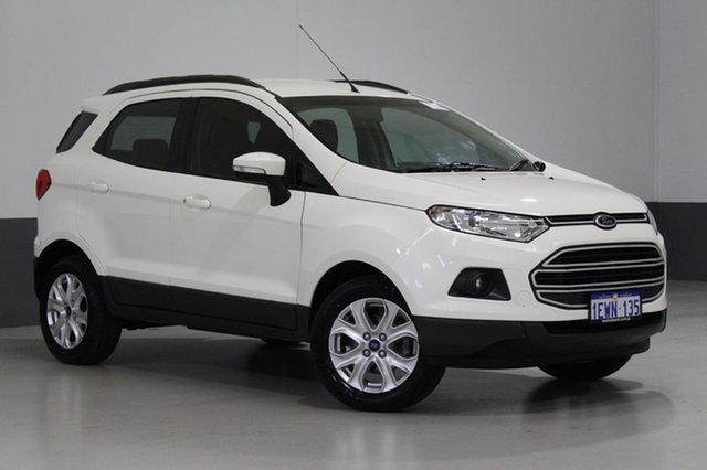 Used Ford Ecosport BK Trend, 2015 Ford Ecosport BK Trend White 6 Speed Automatic Wagon