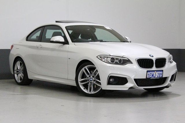 Used BMW 220i F22 , 2014 BMW 220i F22 White 8 Speed Automatic Coupe