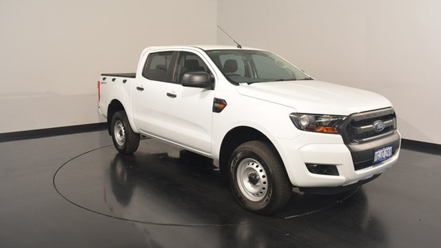 Used Ford Ranger PX MkII XL Double Cab 4x2 Hi-Rider, 2017 Ford Ranger PX MkII XL Double Cab 4x2 Hi-Rider Frozen White 6 Speed Sports Automatic Utility
