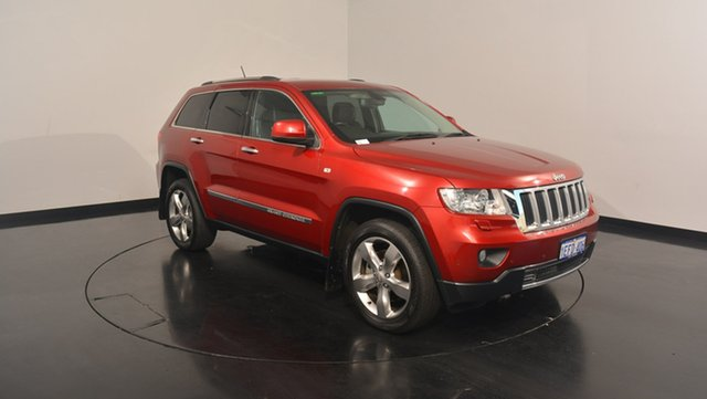 Used Jeep Grand Cherokee WK MY2013 Limited, 2013 Jeep Grand Cherokee WK MY2013 Limited Red 5 Speed Sports Automatic Wagon