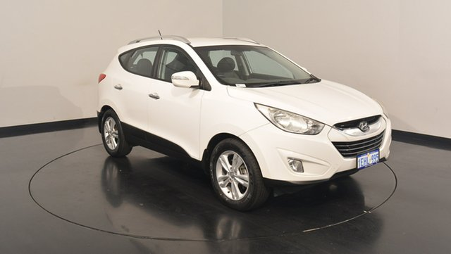 Used Hyundai ix35 LM2 Elite AWD, 2013 Hyundai ix35 LM2 Elite AWD White 6 Speed Sports Automatic Wagon