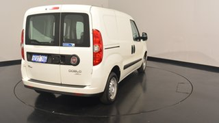 2014 Fiat Doblo 263 Low Roof SWB Comfort-matic White 5 Speed Sports Automatic Single Clutch Van
