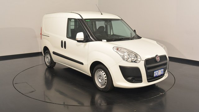 Used Fiat Doblo 263 Low Roof SWB Comfort-matic, 2014 Fiat Doblo 263 Low Roof SWB Comfort-matic White 5 Speed Sports Automatic Single Clutch Van