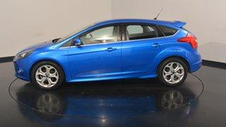 2013 Ford Focus LW MKII Sport PwrShift Winning Blue 6 Speed Sports Automatic Dual Clutch Hatchback.
