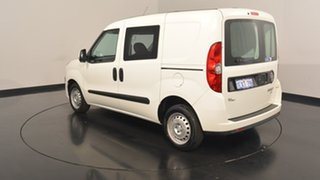 2014 Fiat Doblo 263 Low Roof SWB Comfort-matic White 5 Speed Sports Automatic Single Clutch Van.