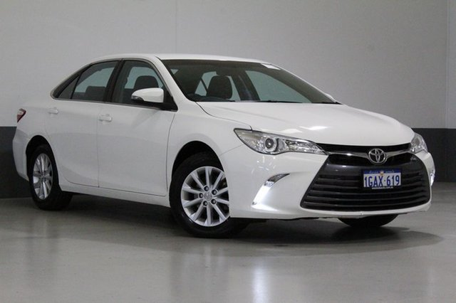 Used Toyota Camry ASV50R MY15 Altise, 2016 Toyota Camry ASV50R MY15 Altise White 6 Speed Automatic Sedan