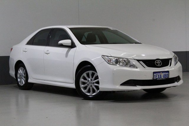 Used Toyota Aurion GSV50R MY15 AT-X, 2015 Toyota Aurion GSV50R MY15 AT-X White 6 Speed Automatic Sedan