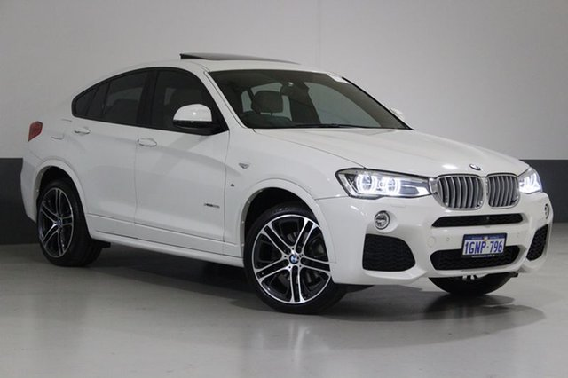 Used BMW X4 F26 xDrive 35I, 2014 BMW X4 F26 xDrive 35I Alpine White 8 Speed Automatic Coupe