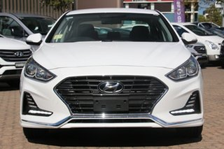 2018 Hyundai Sonata LF4 MY18 Active White Cream 6 Speed Sports Automatic Sedan