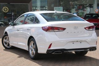 2018 Hyundai Sonata LF4 MY18 Active White Cream 6 Speed Sports Automatic Sedan.