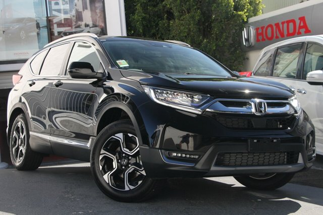 New Honda CR-V RW MY20 VTi-LX 4WD, 2019 Honda CR-V RW MY20 VTi-LX 4WD Crystal Black 1 Speed Constant Variable Wagon
