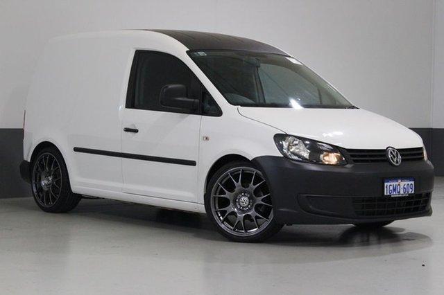 Used Volkswagen Caddy 2K MY15 TSI160 Runner, 2014 Volkswagen Caddy 2K MY15 TSI160 Runner White 5 Speed Manual Van