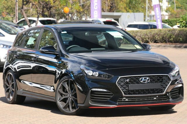 New Hyundai i30 PDe MY18 Performance, 2018 Hyundai i30 PDe MY18 Performance Phantom Black 6 Speed Manual Hatchback