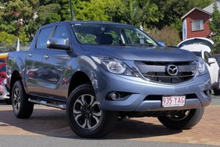2018 Mazda BT-50 UR0YG1 XTR Blue Reflex 6 Speed Sports Automatic Utility.