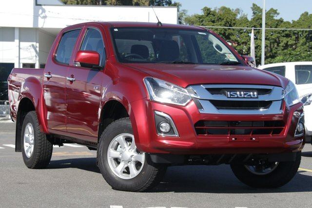 New Isuzu D-MAX MY19 LS-M Crew Cab, 2019 Isuzu D-MAX MY19 LS-M Crew Cab Magnetic Red 6 Speed Sports Automatic Utility