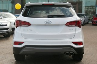 2017 Hyundai Santa Fe DM5 MY18 Active Pure White 6 Speed Sports Automatic Wagon