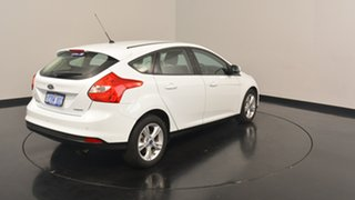2014 Ford Focus LW MKII MY14 Trend PwrShift Frozen White 6 Speed Sports Automatic Dual Clutch