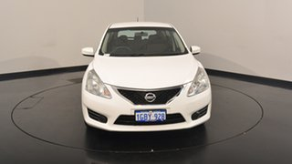 2016 Nissan Pulsar C12 Series 2 ST White 1 Speed Constant Variable Hatchback
