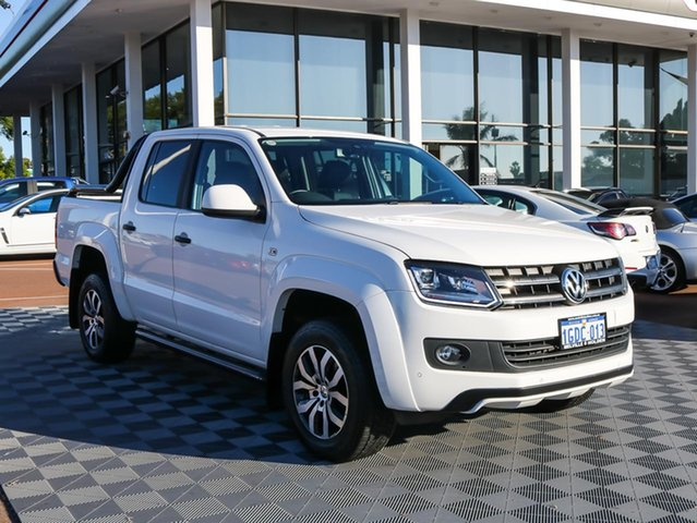Used Volkswagen Amarok 2H MY16 TDI420 4MOTION Perm Canyon, 2015 Volkswagen Amarok 2H MY16 TDI420 4MOTION Perm Canyon White 8 Speed Automatic Utility