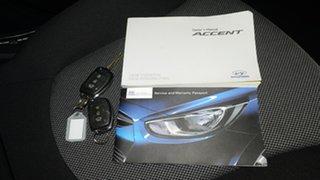 2014 Hyundai Accent RB2 Active Sunflower 4 Speed Sports Automatic Sedan