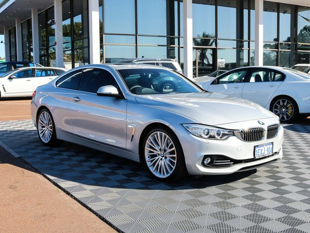 Used BMW 428i F32 Luxury Line, 2014 BMW 428i F32 Luxury Line Silver 8 Speed Sports Automatic Coupe