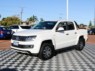 2015 Volkswagen Amarok 2H MY16 TDI420 4MOTION Perm Canyon White 8 Speed Automatic Utility.