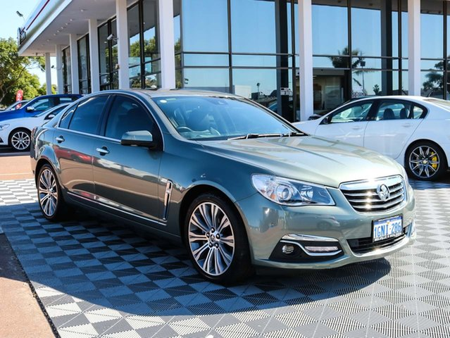 Used Holden Calais VF MY14 V, 2014 Holden Calais VF MY14 V Prussian Steel 6 Speed Sports Automatic Sedan