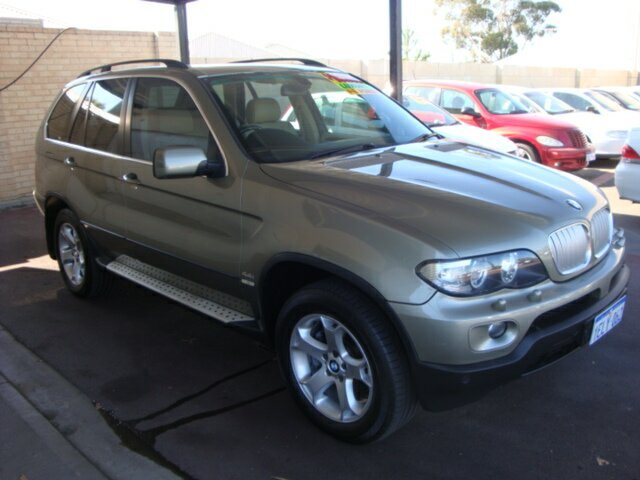 Used BMW X5 E53 MY06 Steptronic, 2006 BMW X5 E53 MY06 Steptronic Gold 6 Speed Sports Automatic Wagon